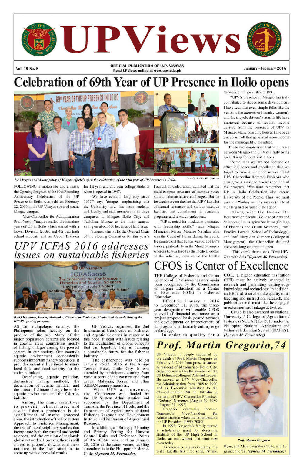 First Bimonthly Issue