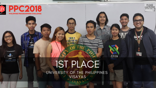 Students' team from Iloilo tops Philippine Programming Challenge 2018