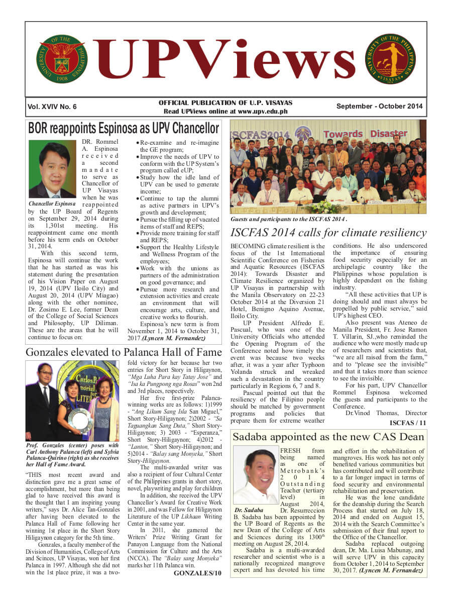 Fifth Bimonthly Issue