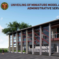 Unveiling of the Miniature Model and Groundbreaking of the Administrative Services Building and Ceremonial Opening of the University Avenue and Oblation Plaza