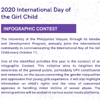2020 International Day of the Girl Child Infographic Contest