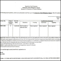 Administrative Aide III (Utility Worker II) - Liaison Office