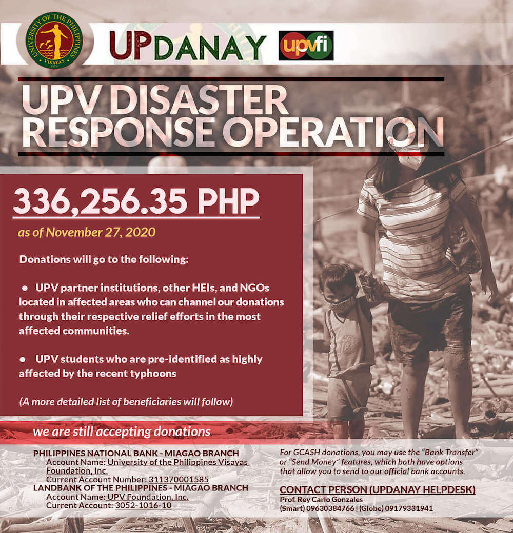 upv disaster response operation update3